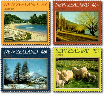 1982 Four Seasons Scenic Issue