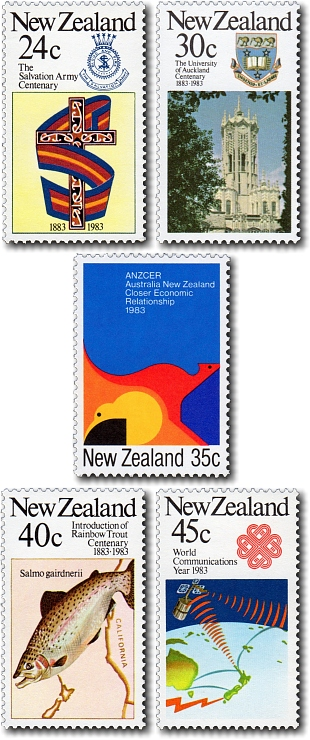 1983 Anniversaries / Commemoratives