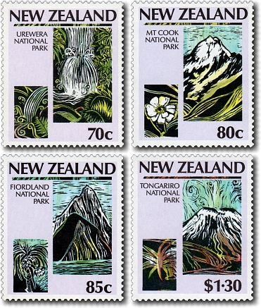 1987 National Parks Scenic Issue