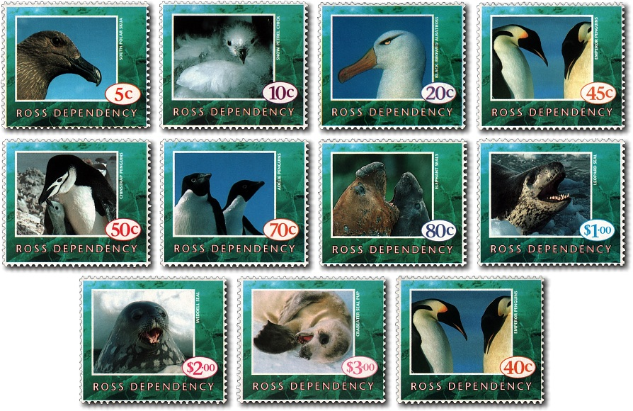 1994 Ross Dependency Wildlife Definitives