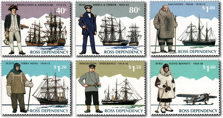 1995 Ross Dependency Antarctic Explorers