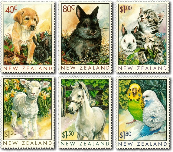 1999 Popular Pets / Year of the Rabbit