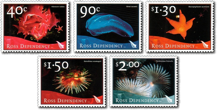 2003 Ross Dependency Marine Life