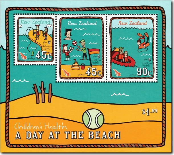 2004 Health - A Day at the Beach