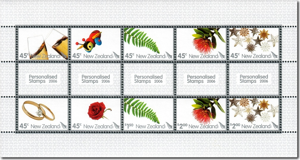 2006 Personalised Stamps