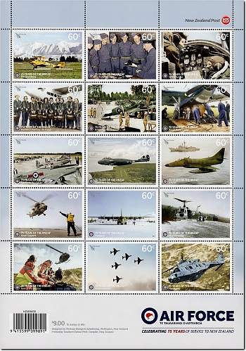 2012 75th Anniversary of the Royal New Zealand Air Force