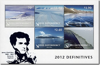 2012 Ross Dependency Definitives