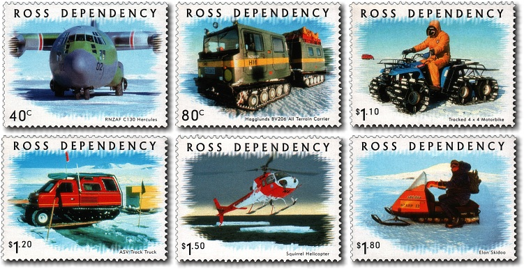 2000 Ross Dependency Transport on Ice